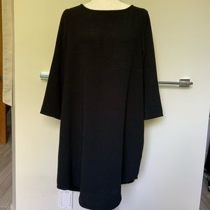 BB Dakota cute long sleeve black dress back cutout